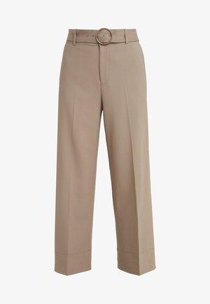 ASTRID PANT - Spodnie materiałowe - tabac