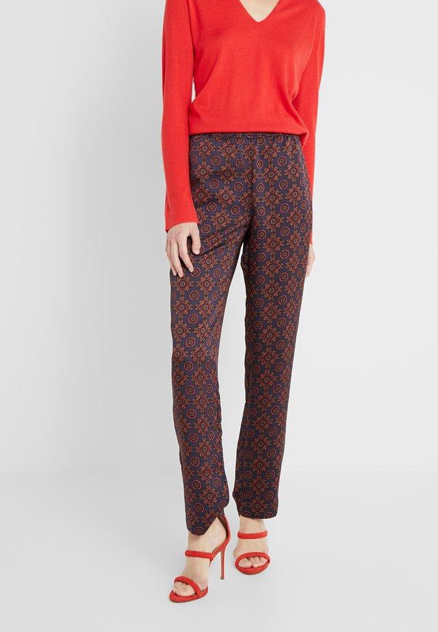 PRINTED PULLON - Pantalon classique - red/blue/multi