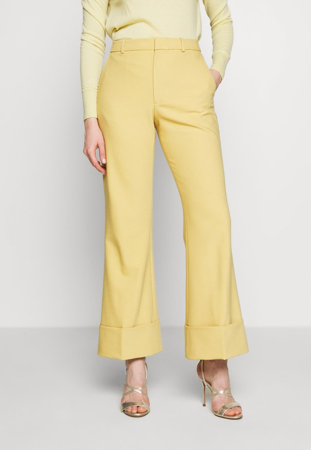 EXTREME CUFF PANT - Trousers - orange
