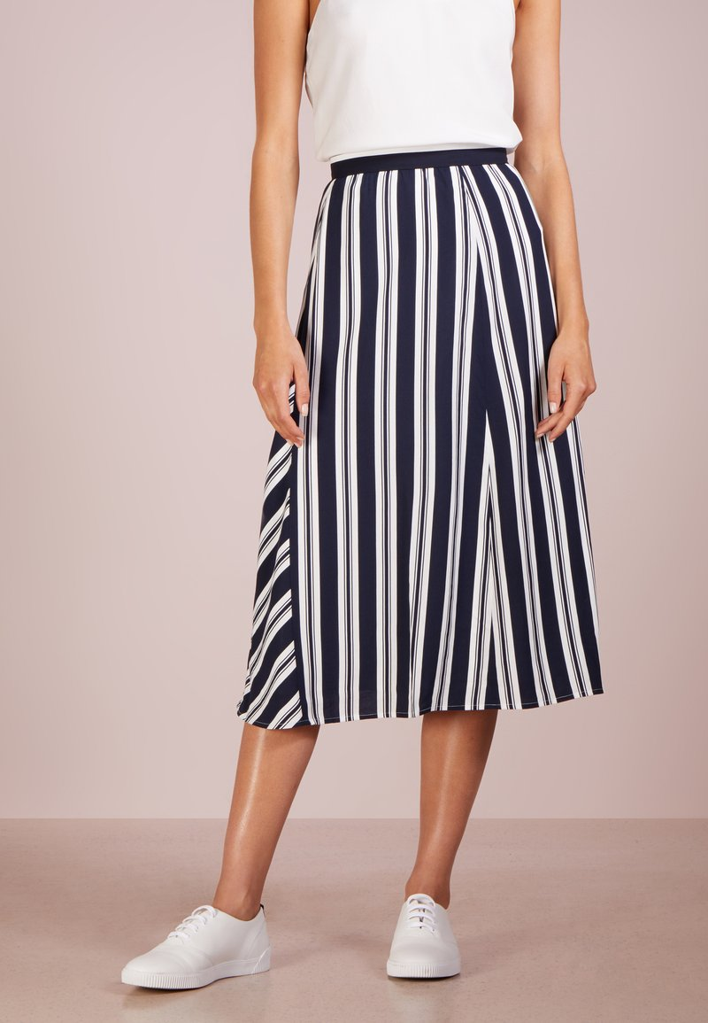 Club Monaco - FRESCY SKIRT - A-Linien-Rock - dark blue