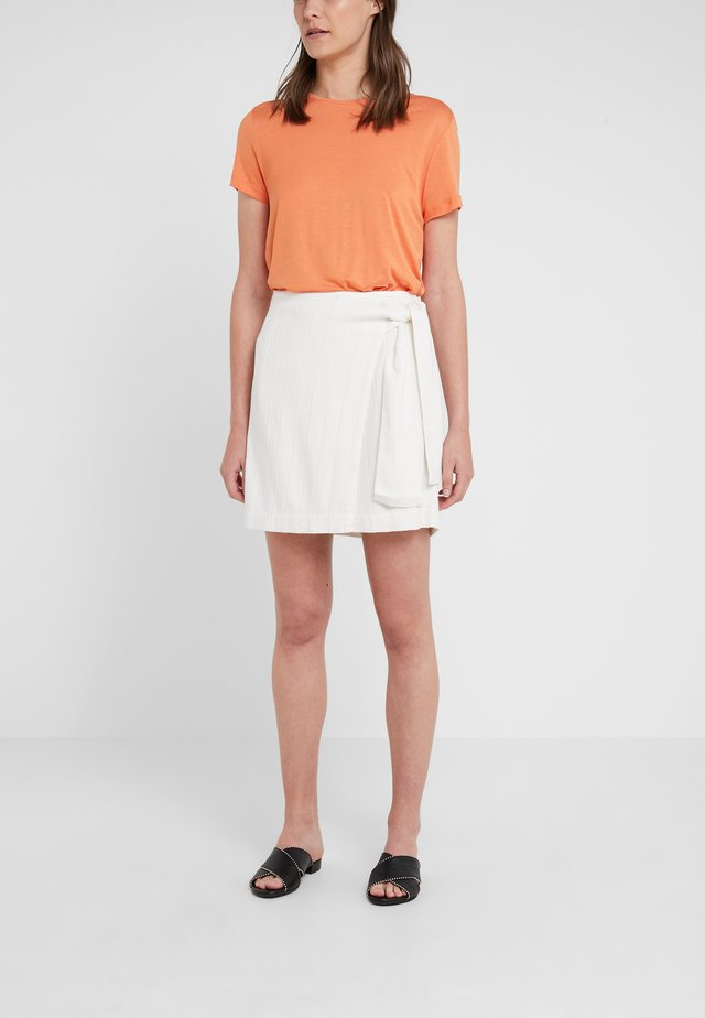 MAIREAD SKIRT - Jupe portefeuille - shadow