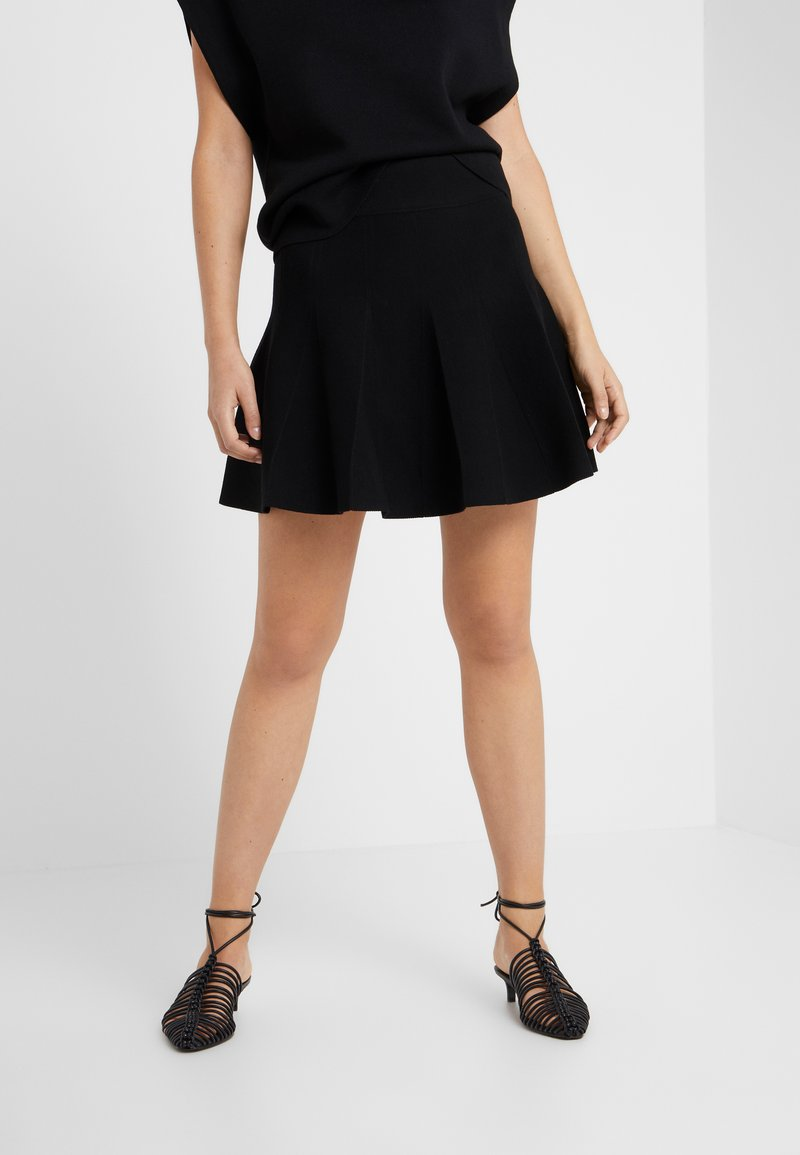Club Monaco - HARLEY SKIRT - A-line skirt - black