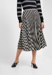 Club Monaco - ANNINA SKIRT - A-snit nederdel/ A-formede nederdele - black stripe - 0