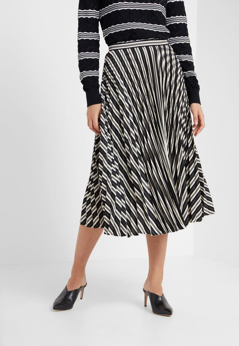 Club Monaco - ANNINA SKIRT - A-snit nederdel/ A-formede nederdele - black stripe