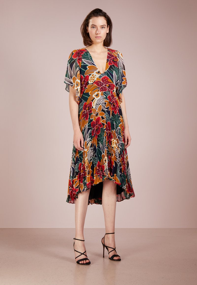 Club Monaco - ZORBINA DRESS - Maxi dress - black multi