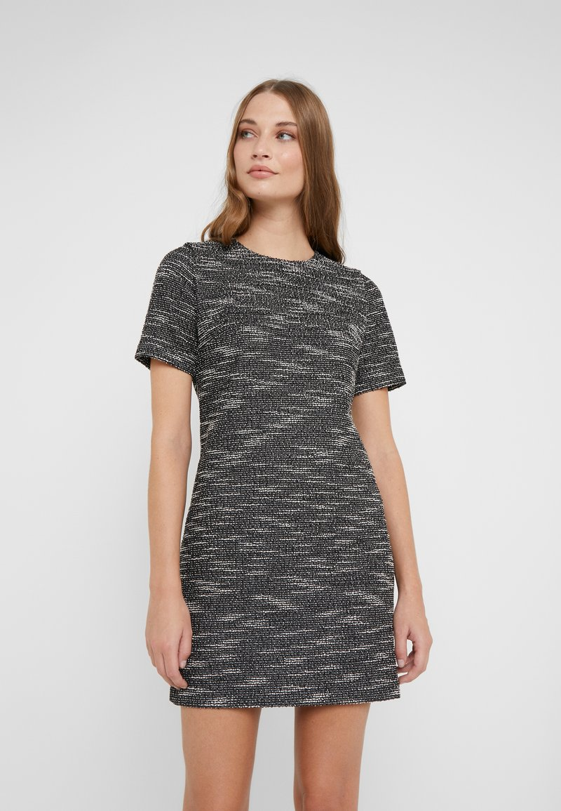 Club Monaco - SHANICE DRESS - Vestido de tubo - black/multi