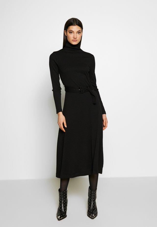 MELISSAH DRESS - Vestido de punto - black