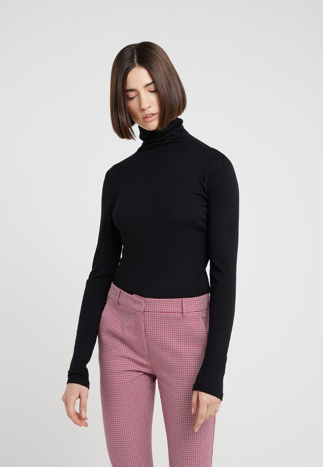 JULIE TURTLENECK - Jumper - soot black