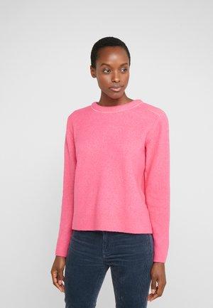 BUBBLE CREWNECK - Stickad tröja - bright pink