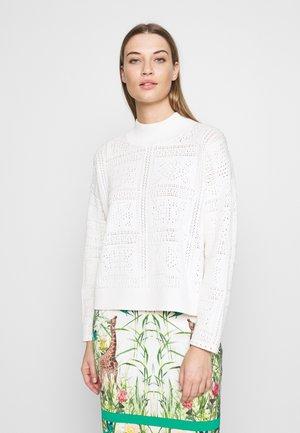 POINTELLE  - Jersey de punto - white