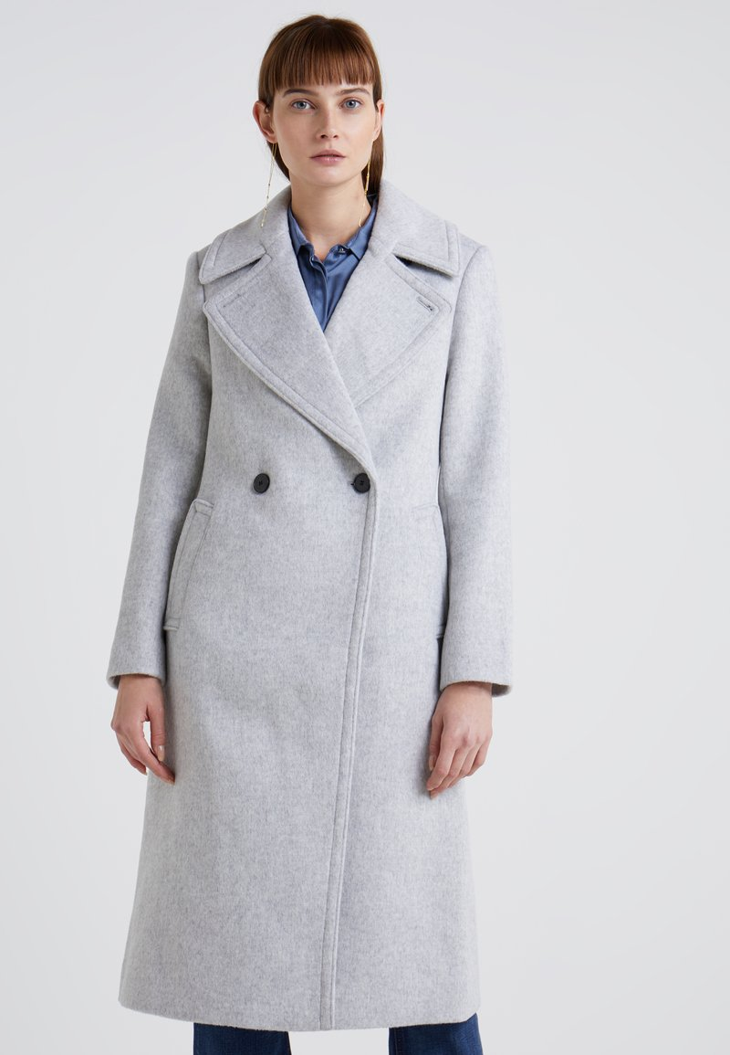 Club Monaco - DAYLINA COAT - Mantel - light heather grey