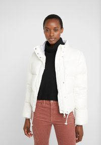 Club Monaco - CROPPED JACKET - Doudoune - buttercream - 0