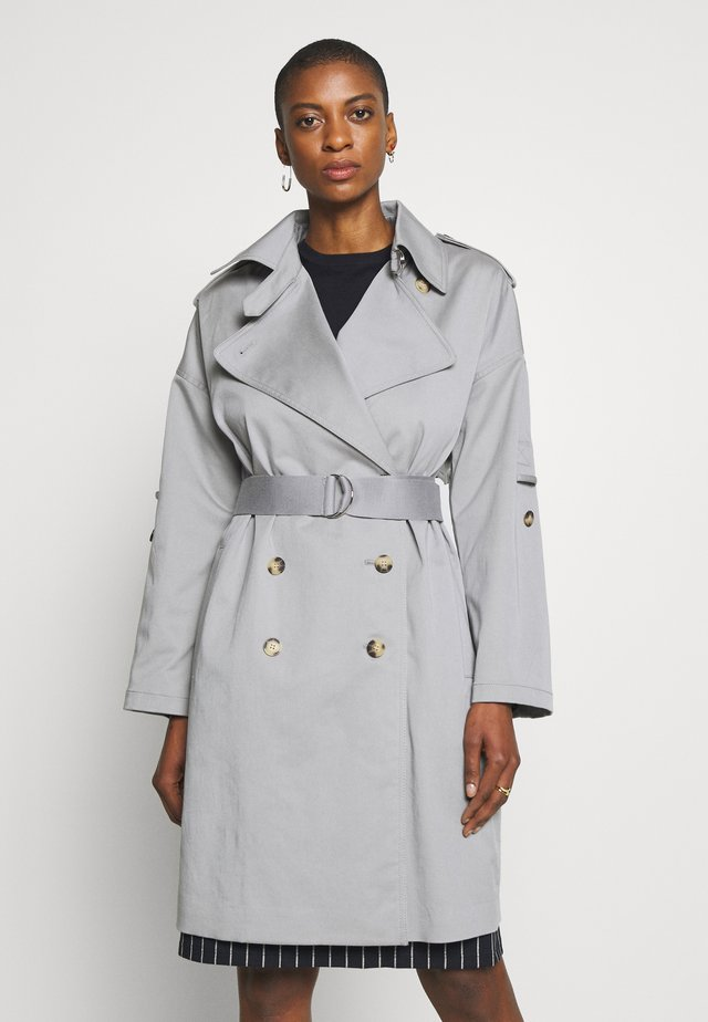 NEW SOFT  - Trench - blue grey