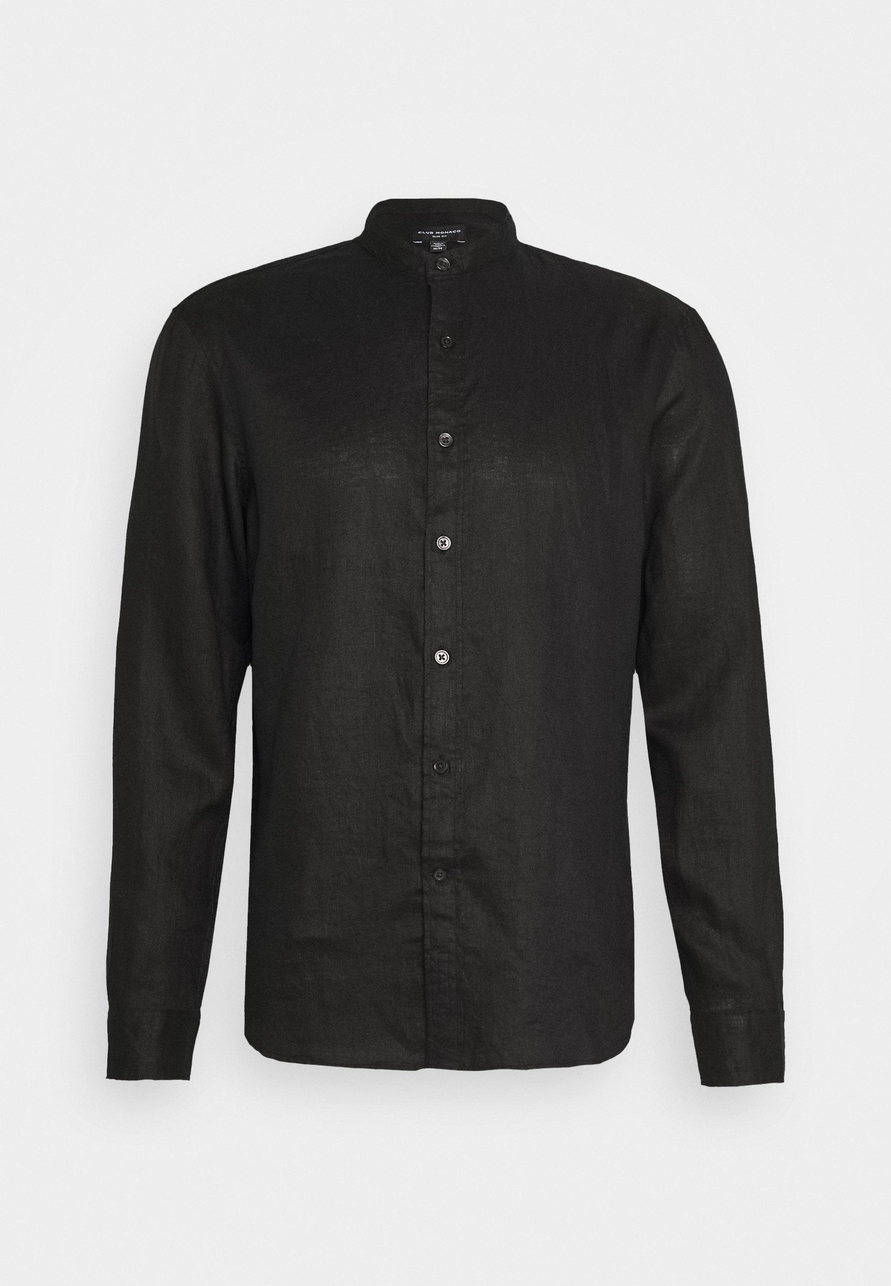 Club Monaco SOLID - Koszula - black
