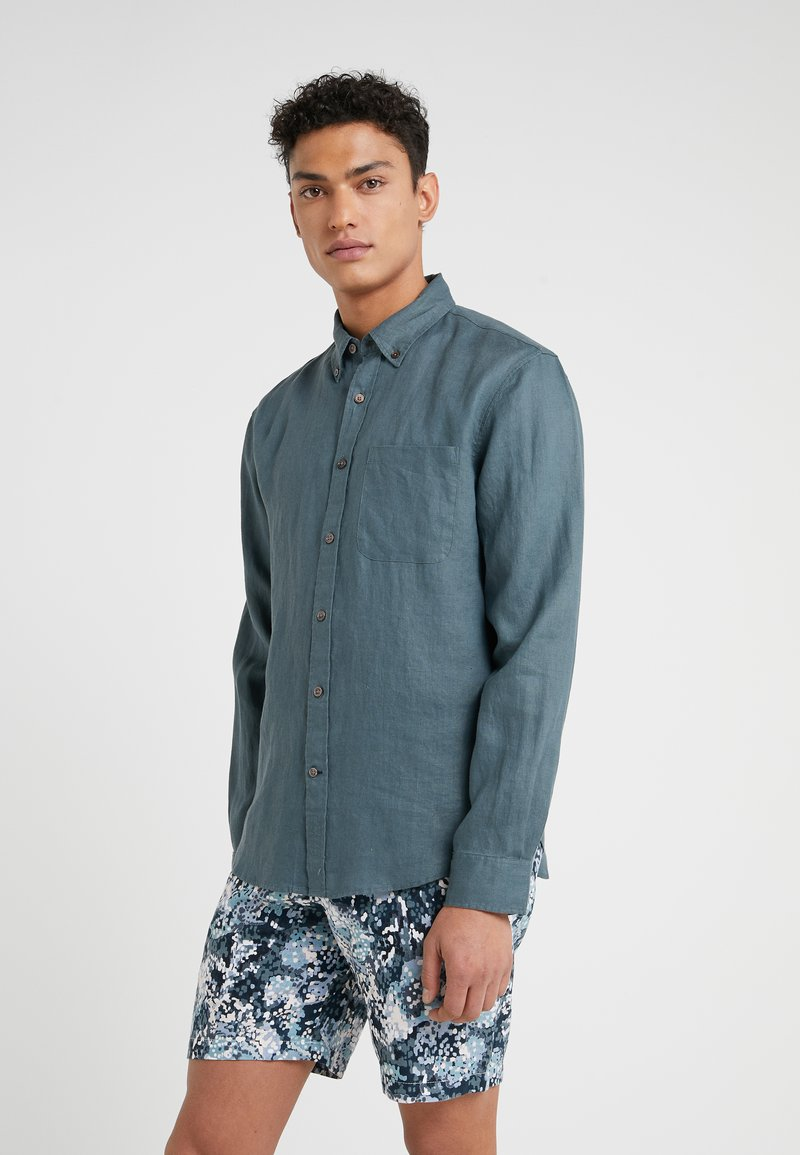 Club Monaco - SOLID  - Shirt - scout blue