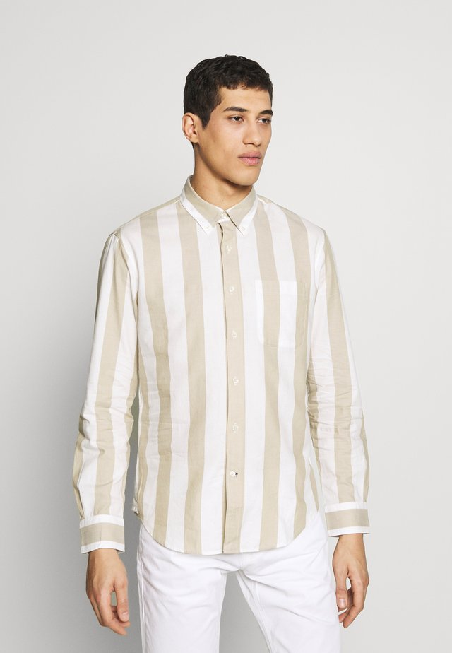 DOUBLE STRIPE - Overhemd - khaki multi