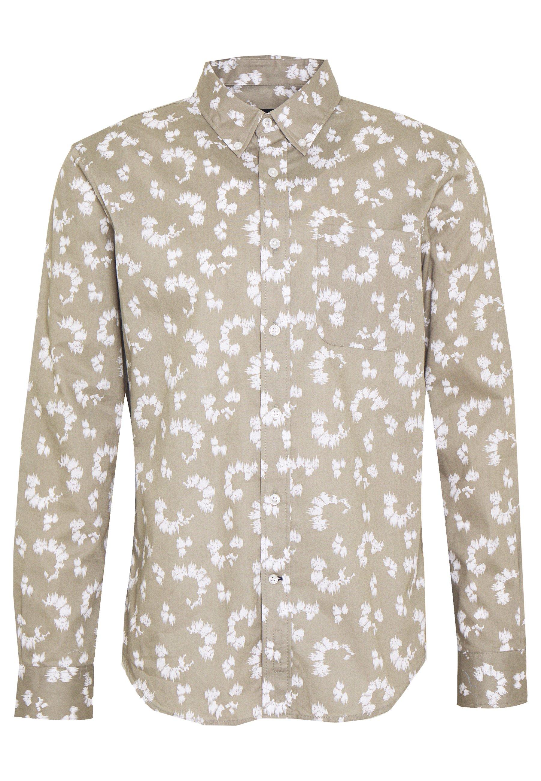 Club Monaco Slim Medium Scale - Shirt Green UK