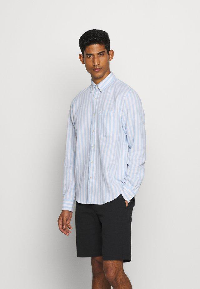 STANDARD WAFFLE STRIPE - Shirt - blue