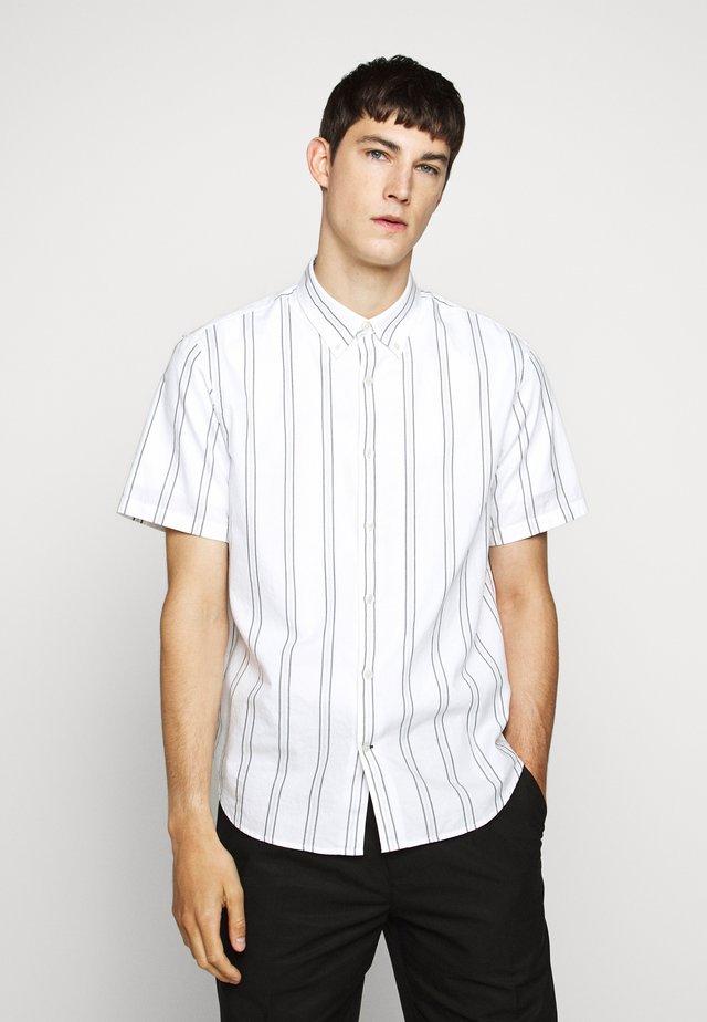 DECK - Overhemd - white/blue
