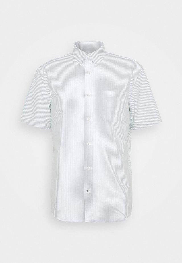 STRIPE OXFORD - Hemd - white/green