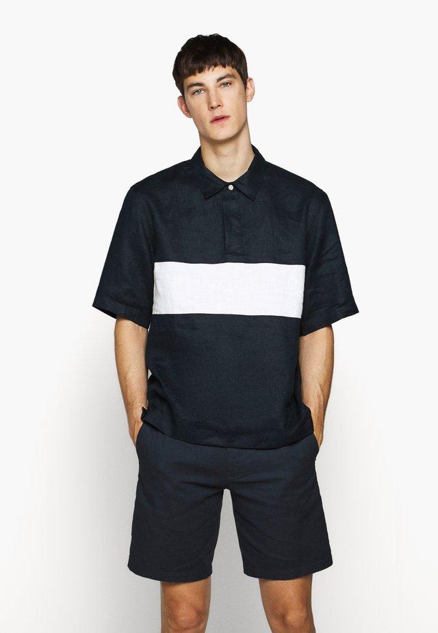 COLORBLOCK - Shirt - blueberry