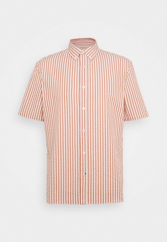 SEERSUCKER - Shirt - red