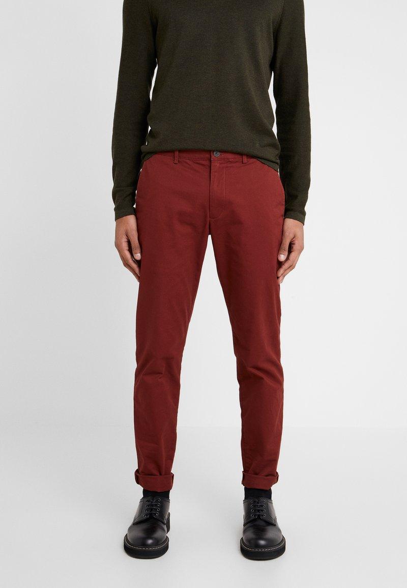 Club Monaco - CONNOR STRETCH - Trousers - rust