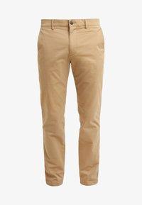 Club Monaco - CONNOR STRETCH - Spodnie materiałowe - dark khaki - 4