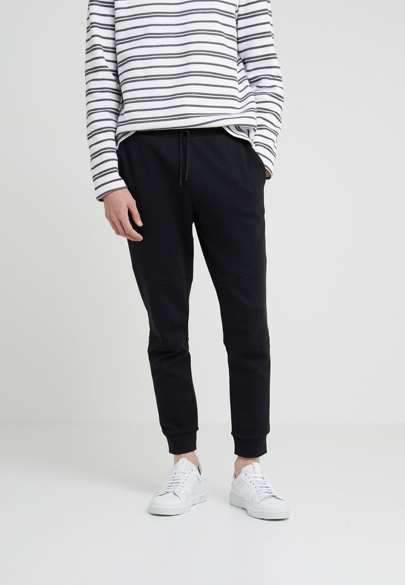Club Monaco - ARTICULATED SEAM PANT - Pantalon de survêtement - black
