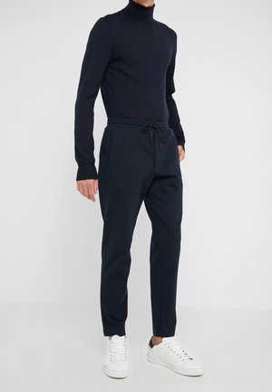 PIPED DETAIL - Joggebukse - navy