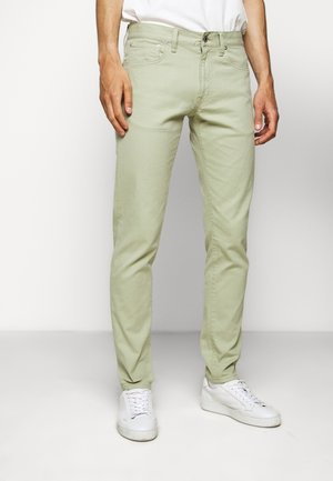 Jeans slim fit - pistachio