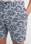 Club Monaco - BAXTER KOLETTE FLORAL - Shorts - blue