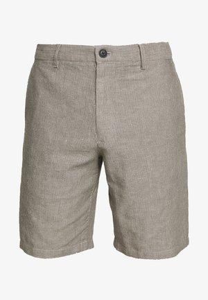 MADDOX THIN STRIPE - Shorts - grey