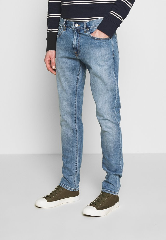 SUPER SLIM KURT WASH - Jeansy Slim Fit - indigo