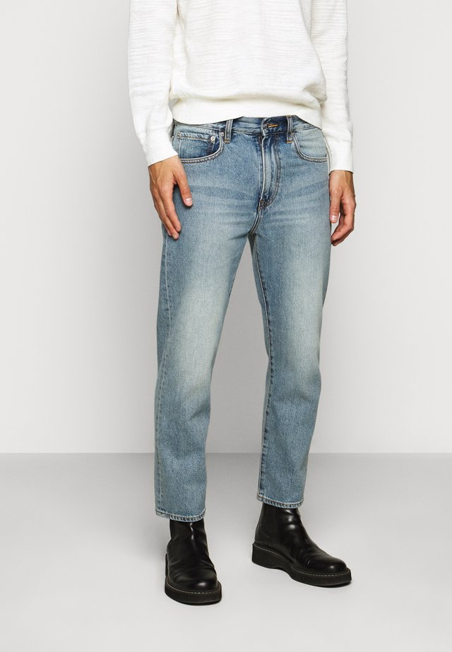 CROPPED STRAIGHT - Jeans Straight Leg - indigo