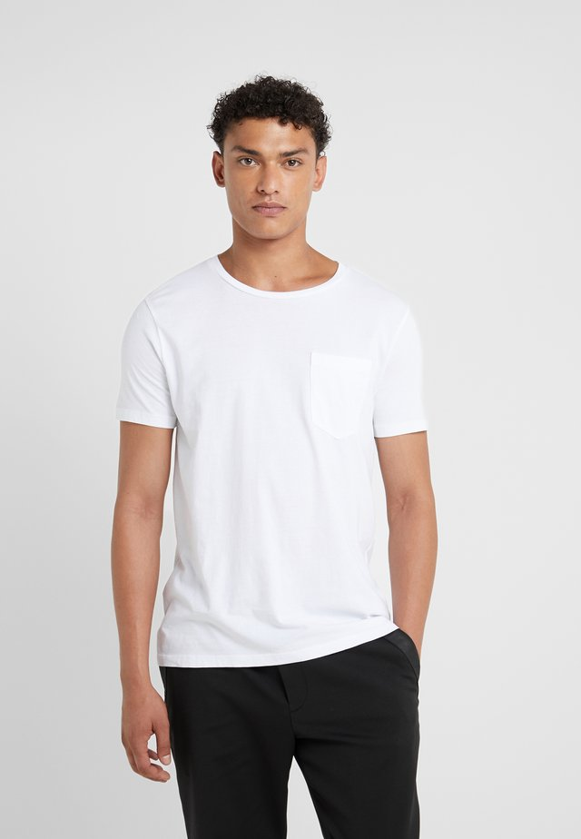 WILLIAMS TEE - Basic T-shirt - white