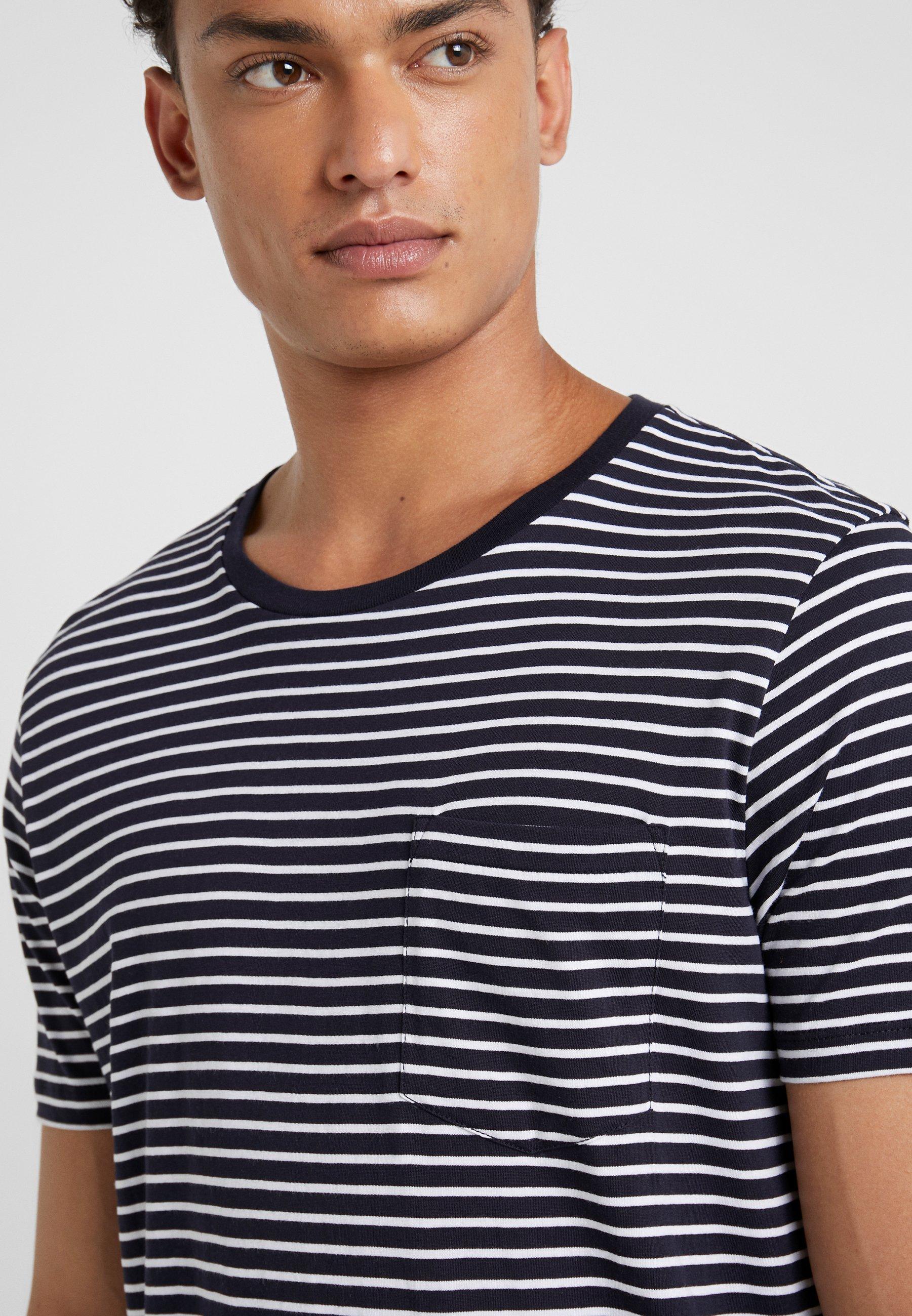 Club TeeT white Navy Williams shirt Stampa Con Monaco PTwOXZuik