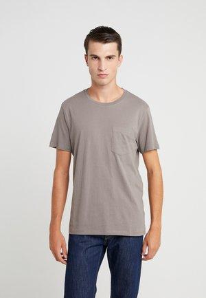WILLIAMS - T-shirt basic - fossil beige