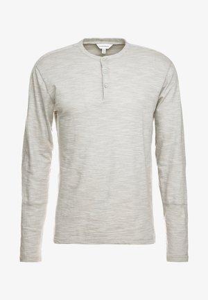 OPTIC SLUB HENLEY - Langarmshirt - grey