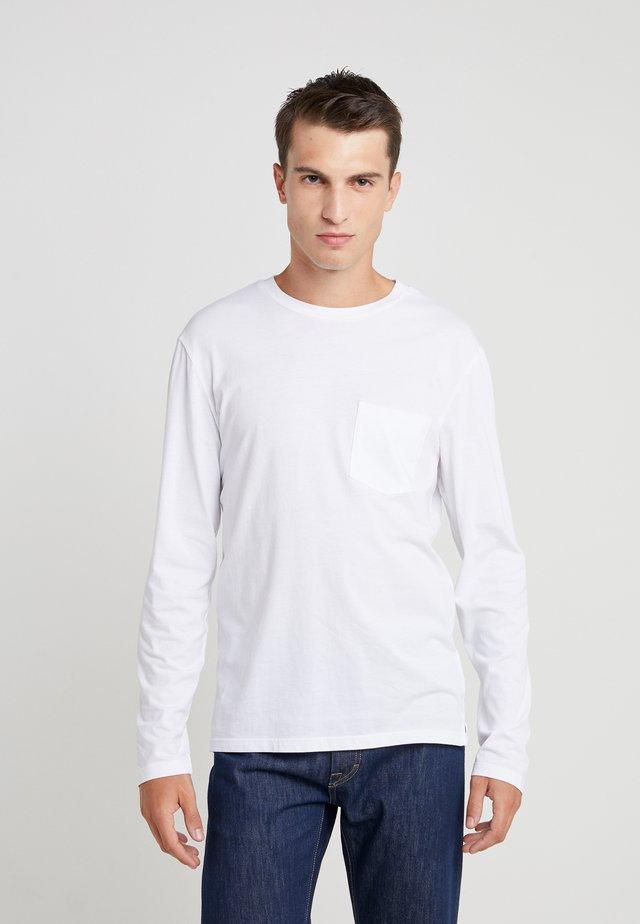 WILLIAMS TEE - Långärmad tröja - white