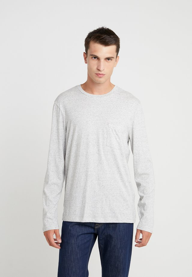 WILLIAMS TEE - Långärmad tröja - heather grey