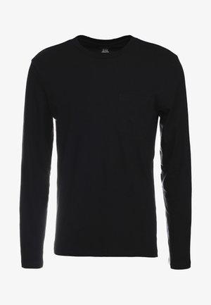 WILLIAMS TEE - T-shirt à manches longues - black