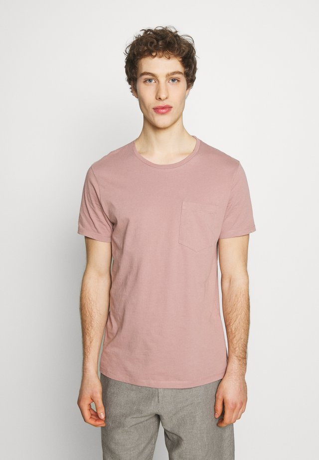 WILLIAMS - T-shirt basique - mauve