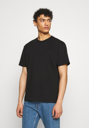 DREW TEE - Basic T-shirt - black