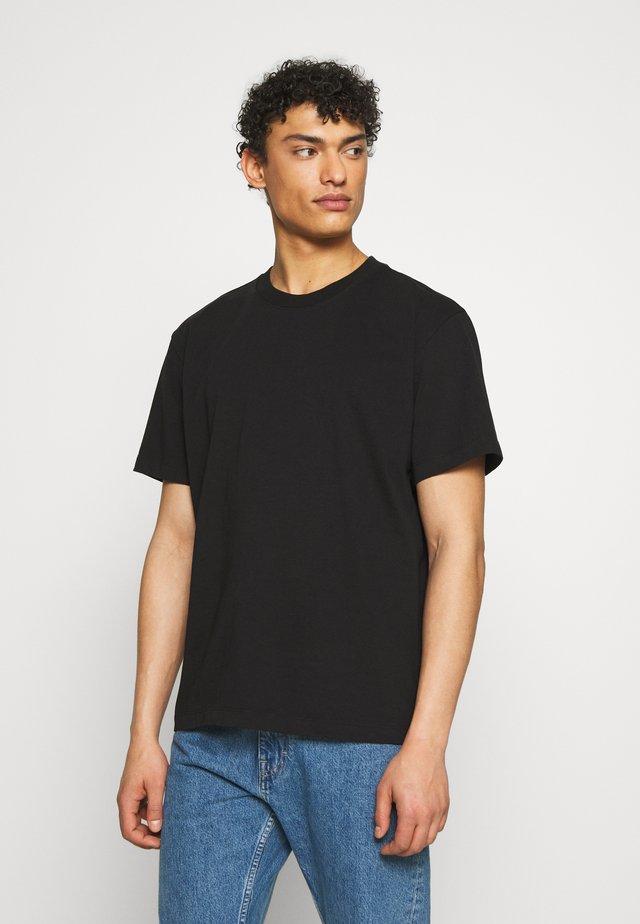 DREW TEE - T-Shirt basic - black