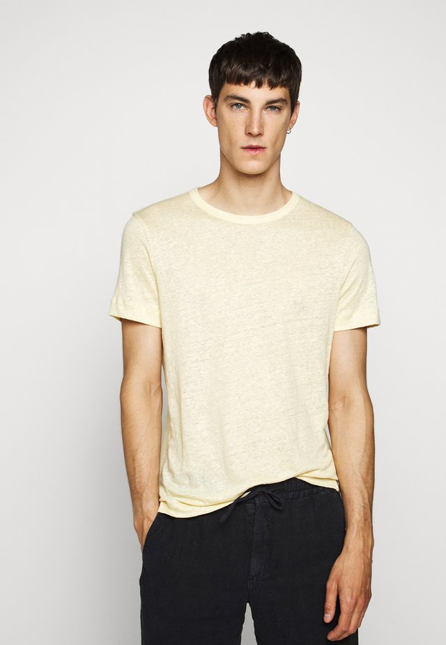 CREW - Basic T-shirt - banana leaf