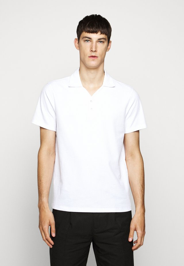 SPLIT NECK - Polo shirt - blanc