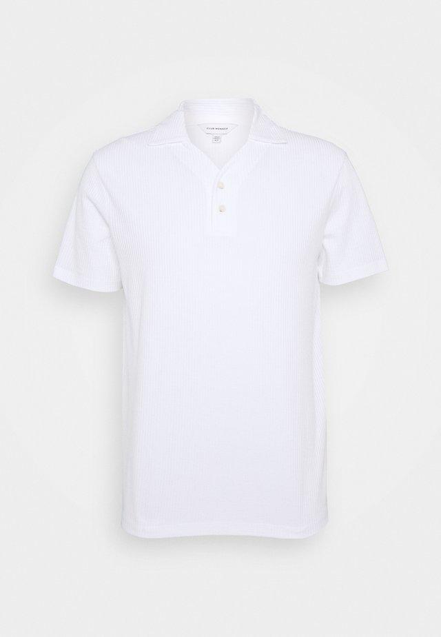 SPLIT NECK - Polotričko - blanc