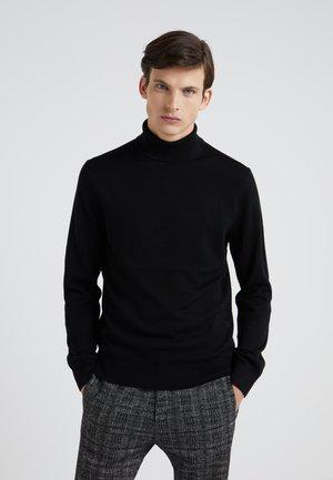 TNECK - Stickad tröja - black