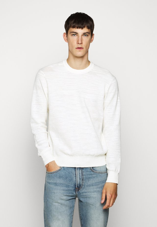 CLUB SLUB - Pullover - white